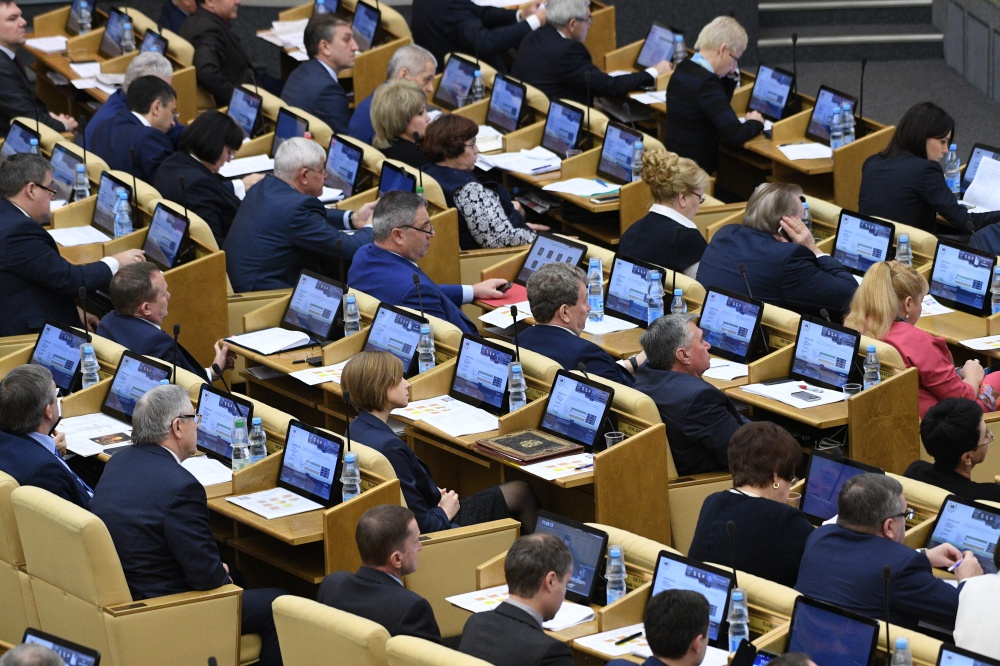 Законодательный проект обувеличении срока полномочий Президента Российской Федерации внесен в Государственную думу