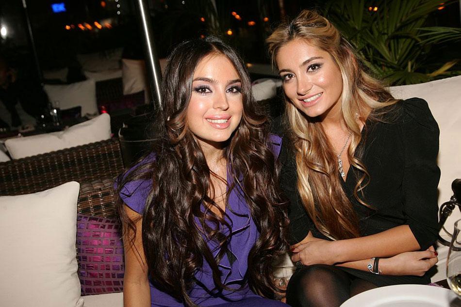 Дочери президента Азербайджана - Арзу и Лейла
